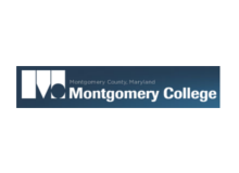 logo with words 'Montgomery Maryland Montgomery College'