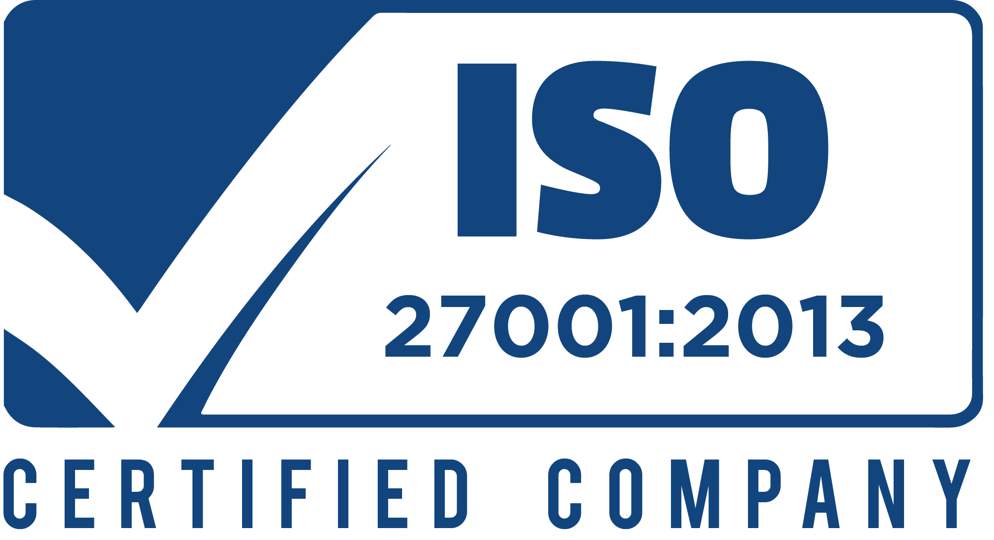 ISO-27001-2013 certified company