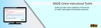 MSDE Online Instructional Toolkit